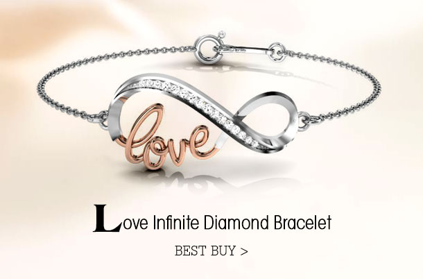 Love-Infinite-Diamond-Bracelet for the Fairy-Tale Girl