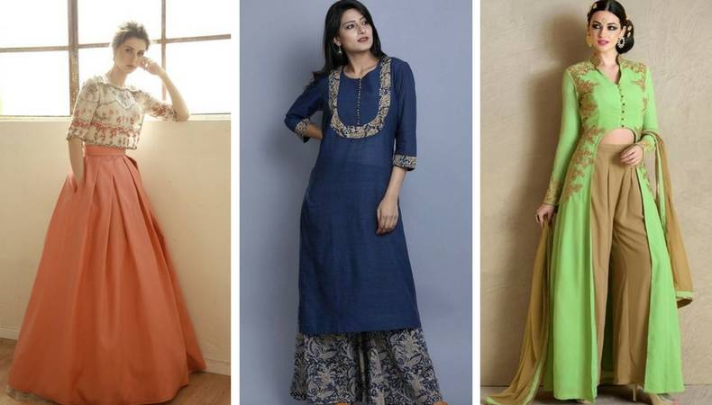 Style tips for Diwali - Palazzo and Skirts