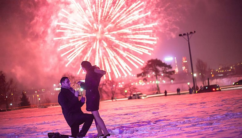Best Ways to get her to say YES this December New Year Eve